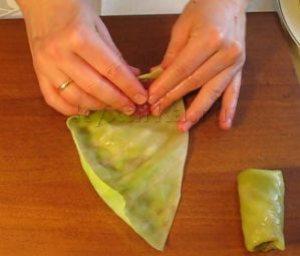 Как сделать голубцы из капусты пошаговый конвертиком