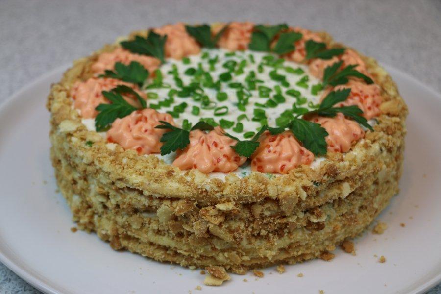 Закусочные торты рецепт самые вкусные
