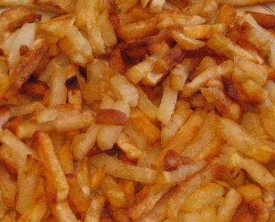 Жареный картофель (под крышкой)