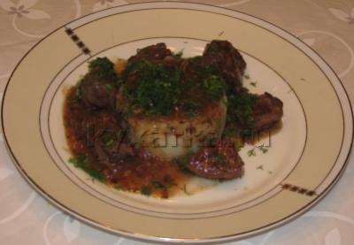 Говядина тушенная по-итальянски