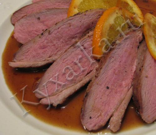 утиная грудка рецепты приготовления на сковороде