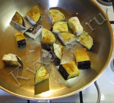 Тимбаллини из спагетти с баклажанами и кедровыми орехами, пошаговый рецепт с фото