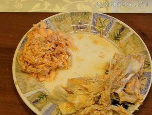 Салаты с лососем и горбушей