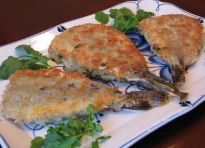 Рыбные сэндвичи с зеленью и сыром