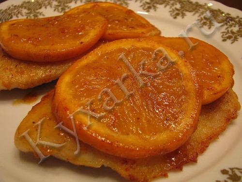 Рыба под апельсиновым соусом