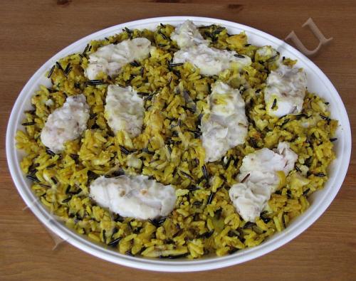 Саядия – арабский плов с рыбой