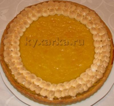 Классический лимонный тарт