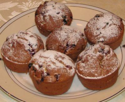 Ягодно-ванильные кексы