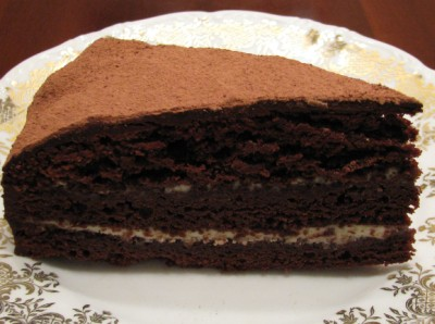 """Торт """"Трюфель"""" с белым и темным шоколадом"""