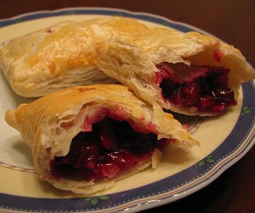 пирожки с вишней (американский рецепт как в mcdonalds