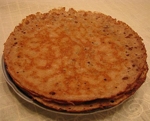 Гречневые блины (без пшеничной муки)