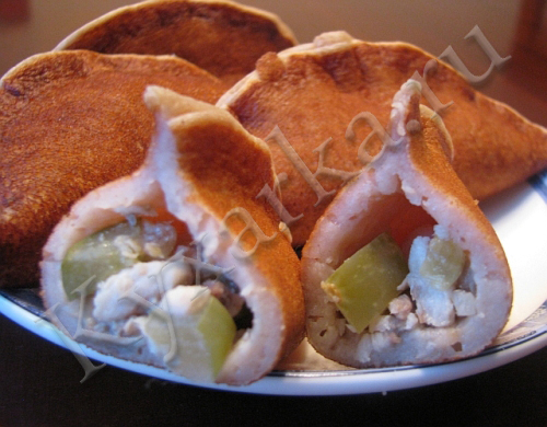 Оладушки-рассольнички с рыбой
