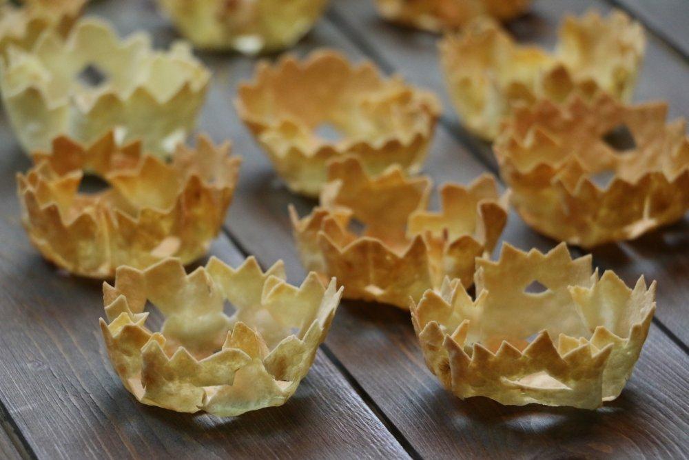 Тарталетки из лаваша