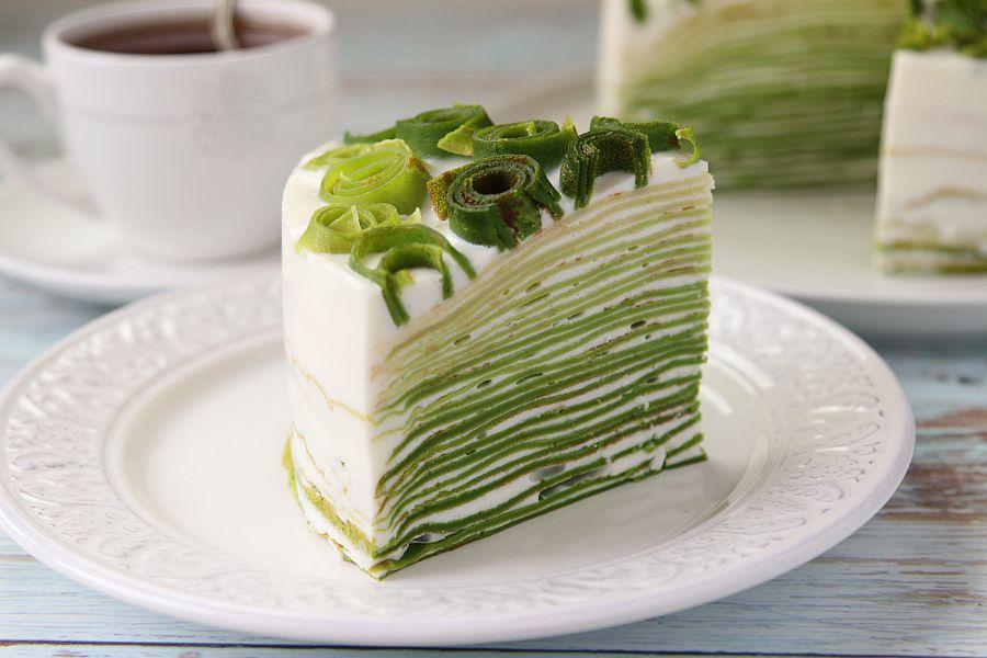 Блинный торт «Весенний»